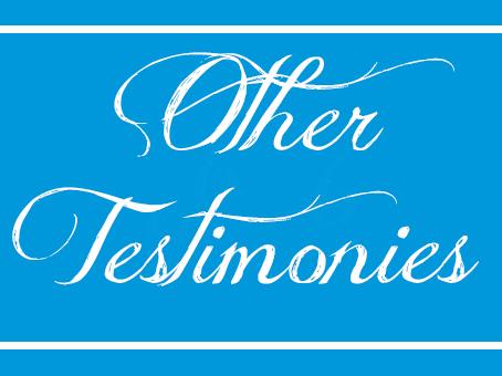 Other Testimonies